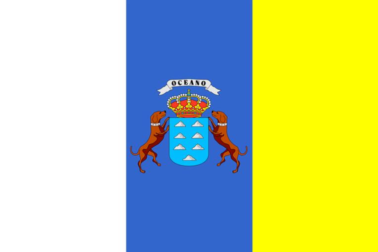 Flagge der Kanaren