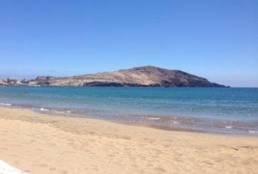 Strand von Gando Bay, Bahia Bay ein besonderer Strand