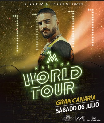 Maluma World Tour 2019