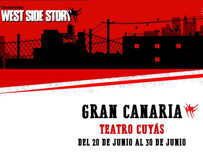 MUSICAL - West Side Story in Las Palmas de Gran Canaria