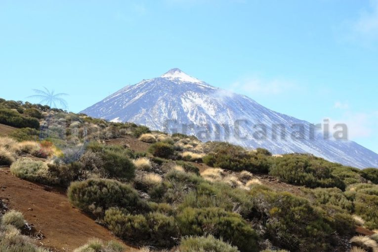 Teide Vulkan auf Teneriffa