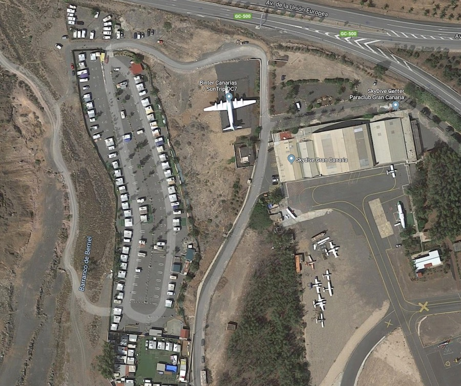 Aerodrom San Agustin Camping
