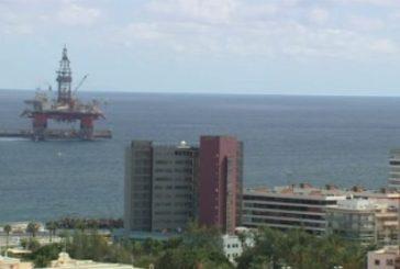 Bohrinsel West Hercules im Hafen von Las Palmas