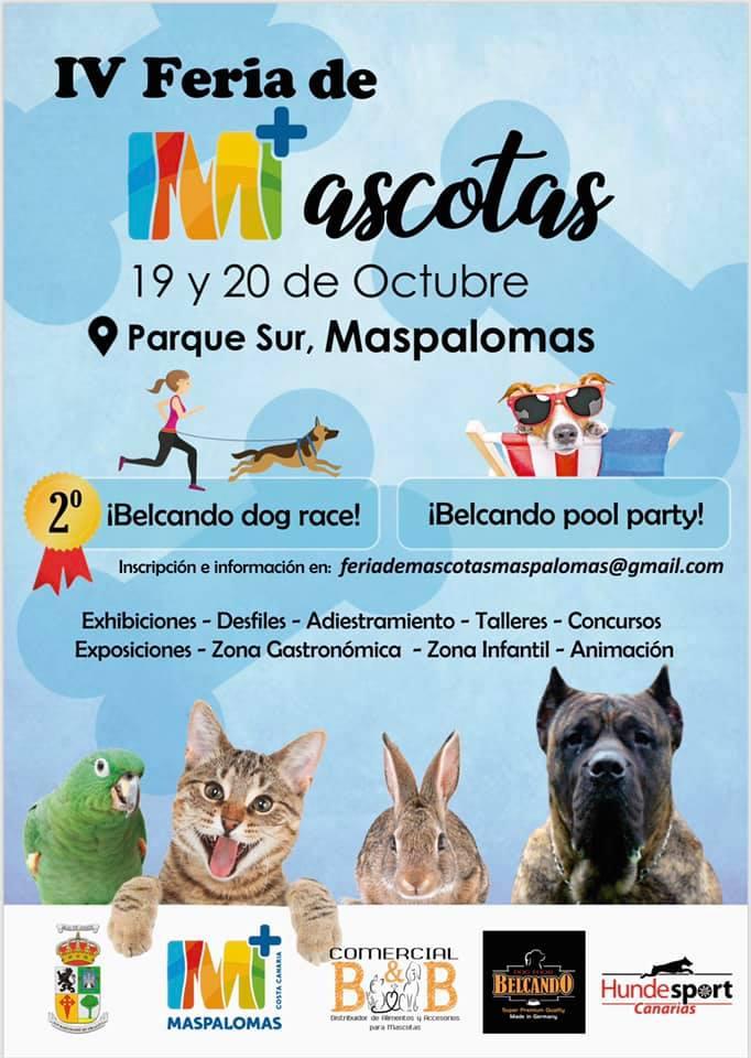 4. Messe für Haustiere in Maspalomas