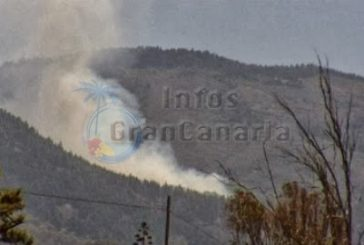 Waldbrand am Cruz de Tejeda - Menschen evakuiert
