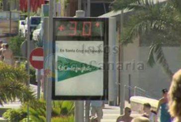 Calima und Temperaturen an der 30°C Grenze zu Weihnachten