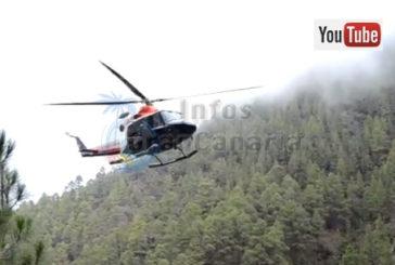 Neuer Hubschrauberlandeplatz mit 24-Stunden-Bereitschaft in La Aldea