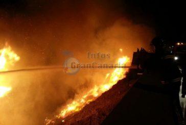 Großer Brand zum Jahreswechsel in Playa del Inglés