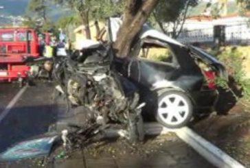 Unfall in Valsequillo - Fahrer schwer verletzt