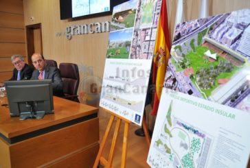 Altes Inselstadion von Las Palmas wird zu einem Freizeit und Sportpark