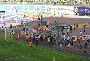 UD Las Palmas muss 180.000 € Strafe zahlen wegen der Ereignisse im letzten Spiel gegen Cordoba