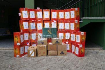 134 Kartons mit Zigaretten bei einer Razzia sichergestellt