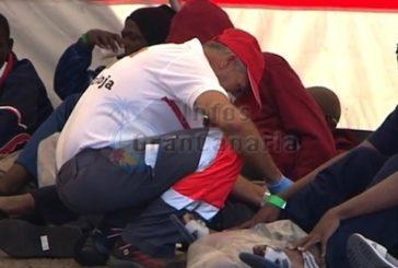 Boot mit 22 Flüchtlingen südlich von Maspalomas entdeckt
