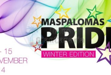 Erstmals in Europa, Gaypride im Winter in Maspalomas