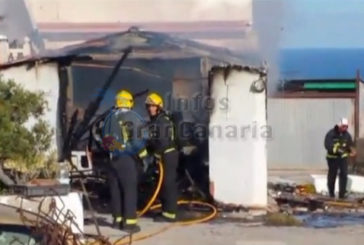 Explosion in Arucas, Frau schwer verletzt