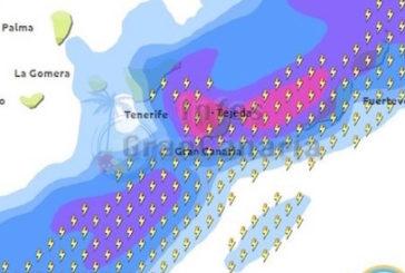 Wetterwarnung für die Kanarischen Inseln