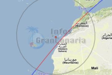ISS am 07. Februar 2013 gut von Gran Canaria aus zu sehen