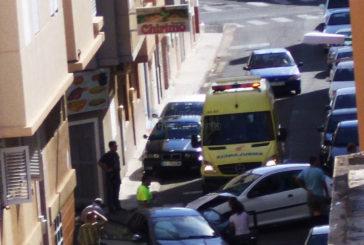 Unfall in Vecindario - Feuerwehr, Polizei und Rettungsdienst im Einsatz