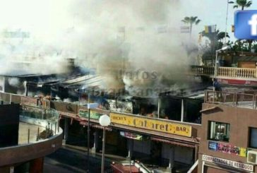 Feuer im Yumbocenter