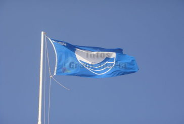 13 blaue Flaggen für Gran Canaria