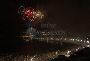 Noche San Juan - 40.000 Menschen mit Bussen nach Las Palmas
