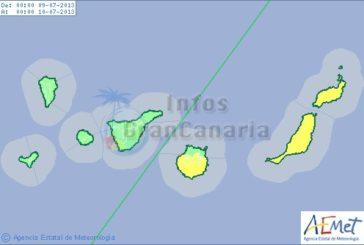 Temperaturanstieg auf über 30°C ab heute auf Gran Canaria