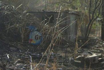 Brand zerstört 2 Hektar Land in Telde