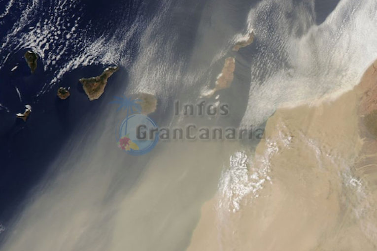 Sandsturm Gran Canaria Aktuell