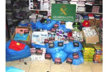 Guardia Civil verhaftet Händler von gefälschter Markenware
