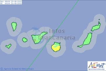 Warnstufe Gelb für Gran Canaria ausgerufen