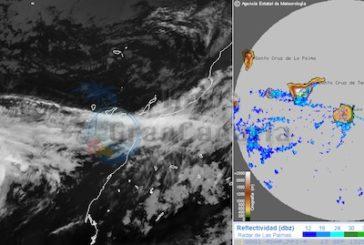 Hurricane Humberto: Stärke 1 bestätigt, auf den Kanaren nur Regen durch den Sturm