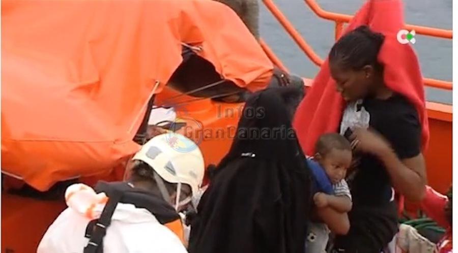 2 Flüchtlingsboote binnen weniger Stunden in den Gewässern von Gran Canaria abgefangen