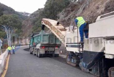 Nach den Feierlichkeiten um Pino wird die GC-21 wieder voll gesperrt - Bauarbeiten gehen weiter