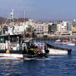 In 24 Stunden kamen 2 Flüchtlingsboote in Arguineguin an – Das letzte heute Morgen gegen 7 Uhr