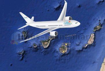 Neue Kanaren Fluggesellschaft ein Stück näher