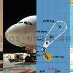 KURZ: Neues Flüchtlingsboot abgefangen – Airbus A380 erstmals auf Gran Canaria gelandet – Hurrikan Lorenzo – Seebeben vor El Hierro