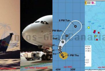 KURZ: Neues Flüchtlingsboot abgefangen - Airbus A380 erstmals auf Gran Canaria gelandet - Hurrikan Lorenzo - Seebeben vor El Hierro