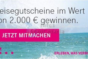 Telekom-Fernweh? Jetzt 2.000 Euro für die nächste Reise abstauben!