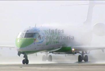 Binter tauft neue Düsenmaschine mit dem Namen Islas Canarias