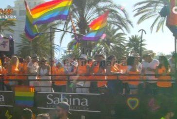 Gaypride Maspalomas 2017 - Etwa 200.000 Besucher bei der Parade