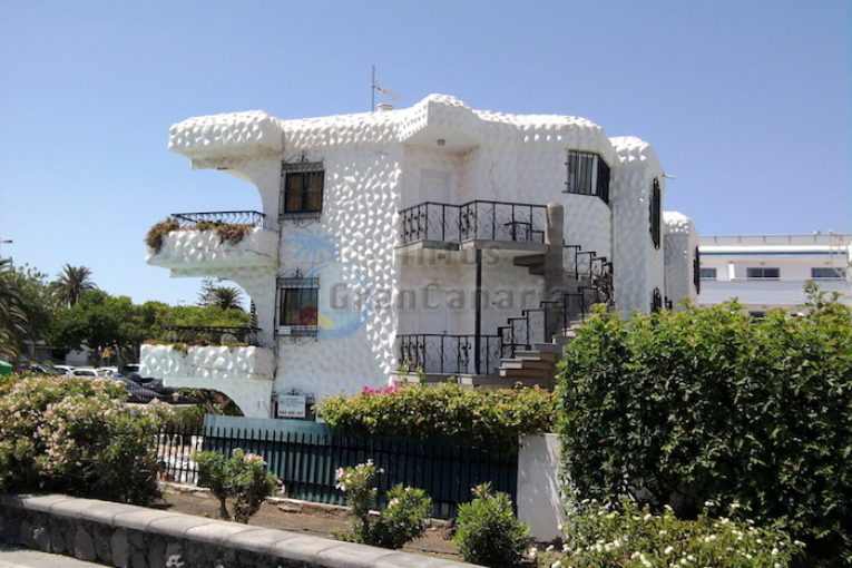 Haus Gebäude in Playa del Inglés - Apartments, Ferienwohnung