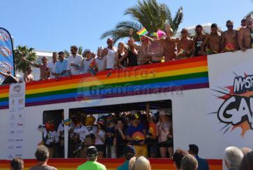 Maspalomas nimmt mit Paradewagen am WorldPride in Madrid teil