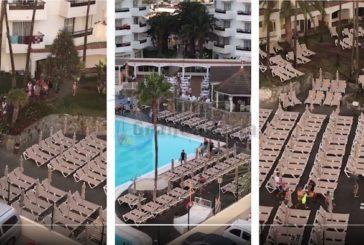 Jeden Morgen um 7:30h: Wettrennen um die Sonnenliegen in Playa del Inglés (inkl. Video)
