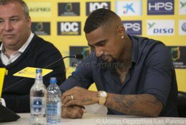 Kevin-Prince Boateng und UD Las Palmas trennen sich auf Wunsch des Spielers