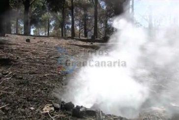 Waldbrand ist stabilisiert aber noch nicht gelöscht - 1 Todesopfer
