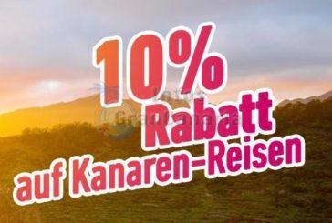 Jetzt 10% Rabatt für einen Urlaub auf den Kanaren sichern - NUR 3 Tage!