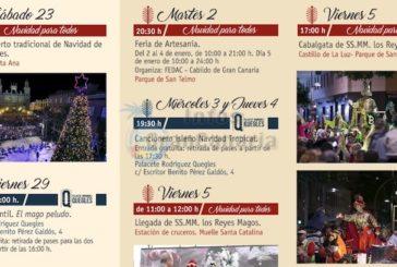 Weihnachten in der Stadt - Las Palmas veröffentlicht Programm