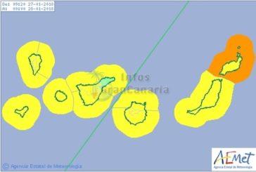 Warnstufe Gelb: Starker WInd und Wellegang für alle Inseln der Kanaren erwartet