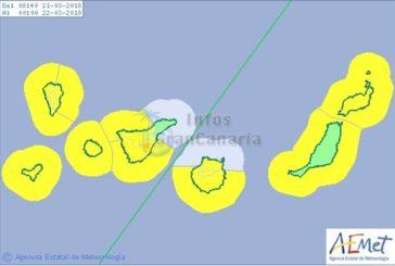 Wetterwarnung der Stufe Gelb für starke Winde auf den Kanaren
