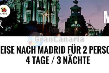 Kurzreise nach Madrid zu gewinnen - Einfach via Facebook teilnehmen